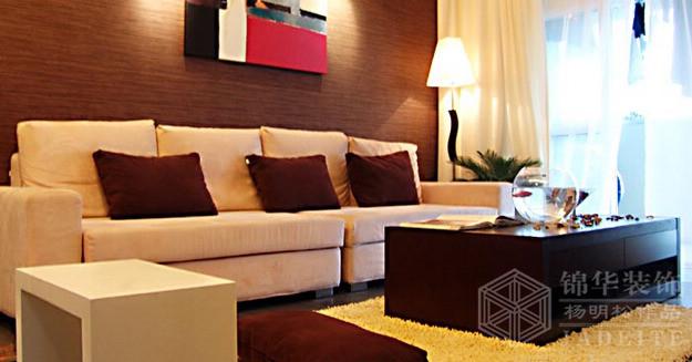 西堤国际--花絮装修-两室两厅-现代简约