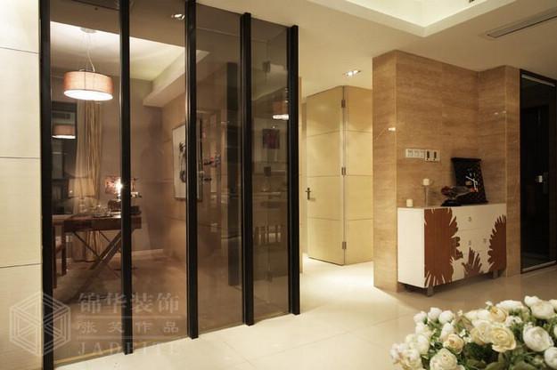 汇锦国际110平方米样板房装修-两室两厅-现代简约