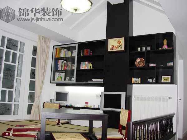 书架-装修图片-南京锦华装饰设计公司