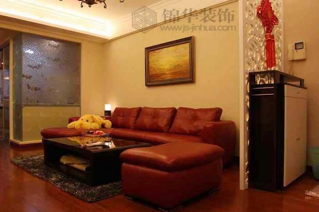 中华公寓:混搭风装修-三室两厅装修效果图-混搭风格