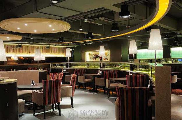 86°咖啡桌面游戏主题店装修-大户型-现代简约