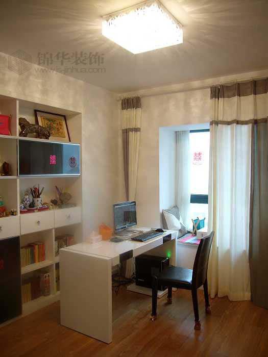 雅居乐141平方--时尚简约装修-三室两厅-现代简约