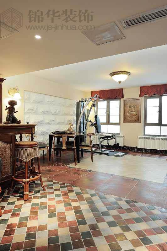 玛斯兰德的美式家居装修-别墅-欧式古典