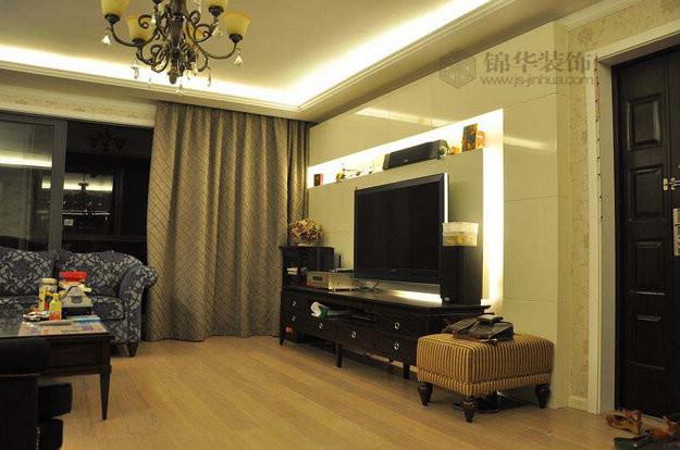 中海塞纳丽舍二期装修-三室两厅-现代简约