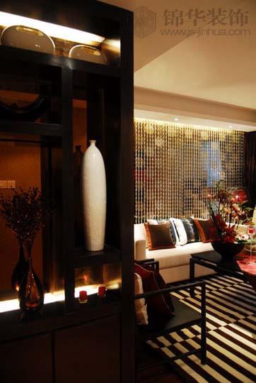 天泓山庄装修-三室两厅-新中式