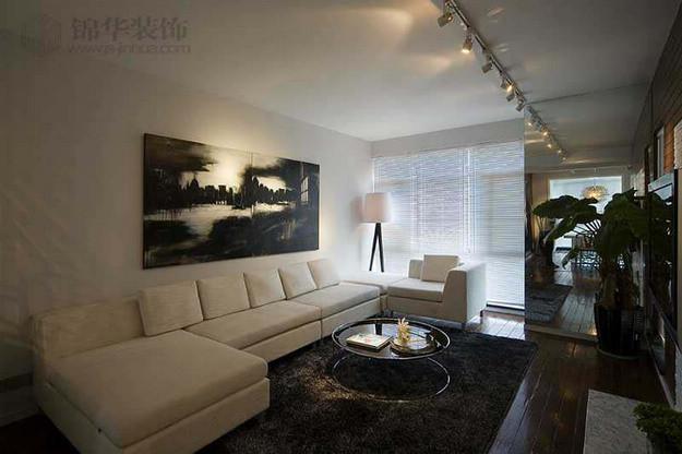 万科白马花园装修-三室两厅-现代简约