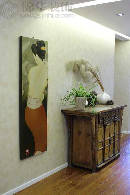 奥体新城翠杉园装修-三室两厅-混搭