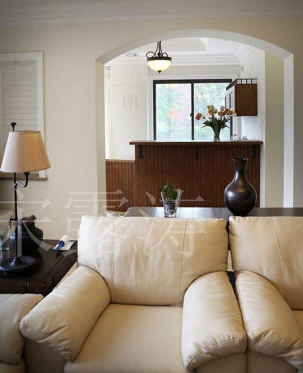 复地朗香--奢华过后是自然装修-别墅-欧式古典
