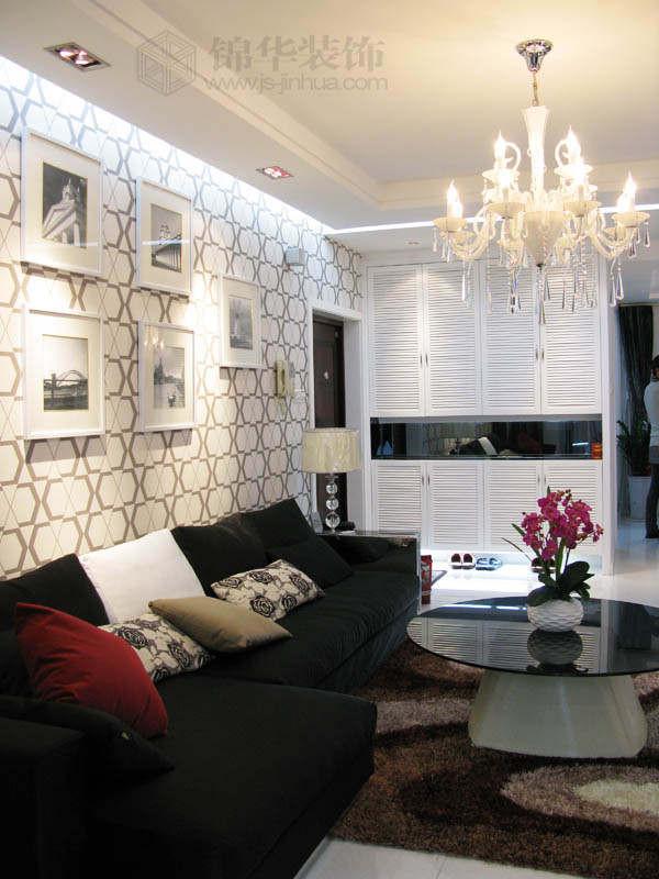 帝景名苑--简约奢华装修-三室两厅-现代简约