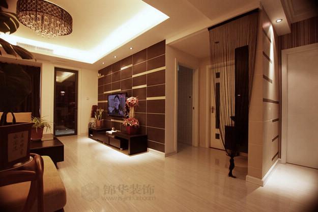 卢龙山庄--舒适空间 纯净生活装修-三室两厅-混搭