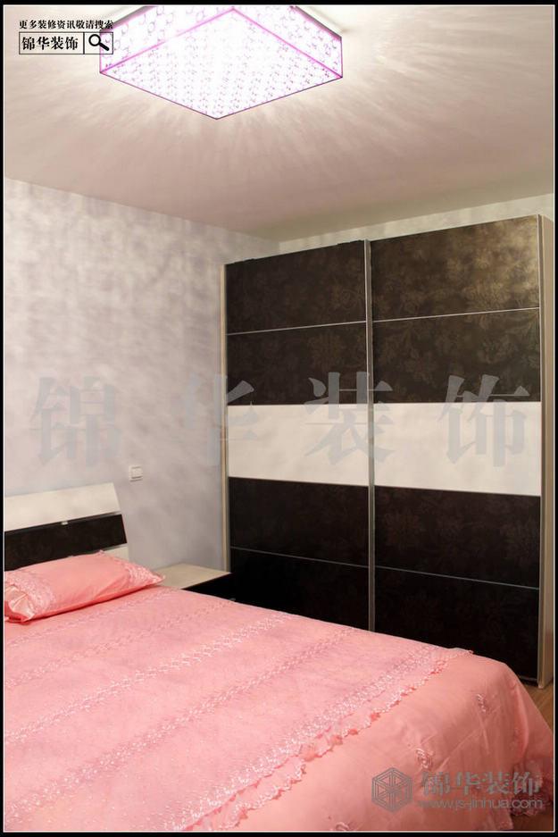 红山碧玉苑装修-三室两厅-现代简约