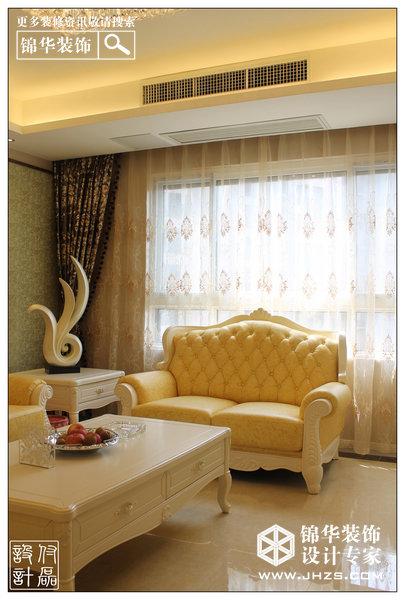 牛奶加咖啡-大华香邑美颂装修-两室两厅-简欧