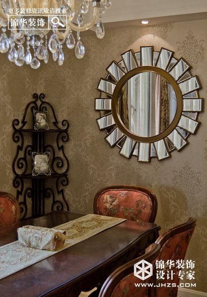 啡色空间-阳光广场装修-三室两厅-欧式古典