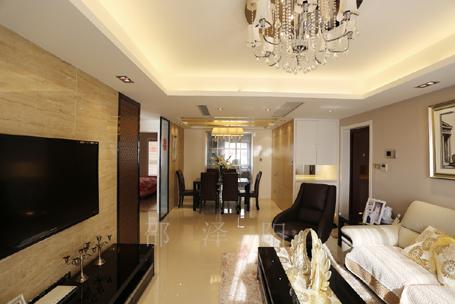 自然主义-阿尔卡迪亚兰亭苑装修-两室两厅-现代简约