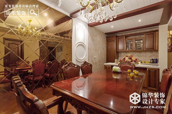 香山湖一号装修-别墅-欧式古典