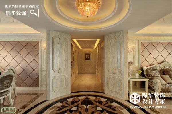 繁星-紫晶城装修-大户型-欧式古典