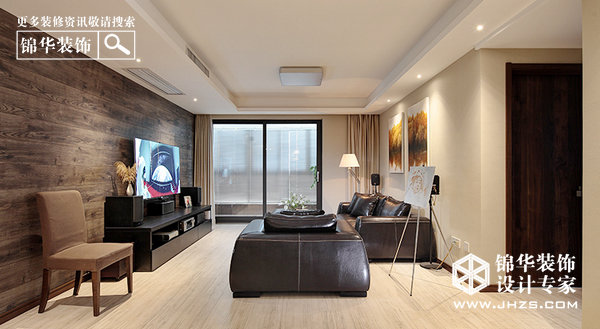 现代简约-金地自在城-三室两厅-140平米装修-三室两厅-现代简约