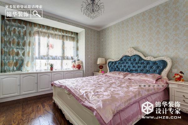 浪漫伊甸园-绿地紫峰公馆 装修-两室两厅-简欧