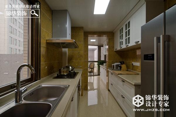 轻巴洛克 星雨华府装修 三室两厅装修效果图 欧式古典风格