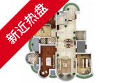 苏宁滨江壹号D户型238平米