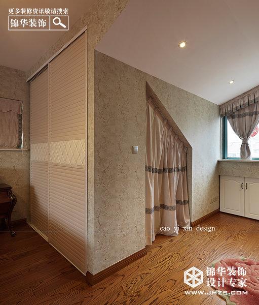 书香门第-金陵世家装修-大户型-新古典