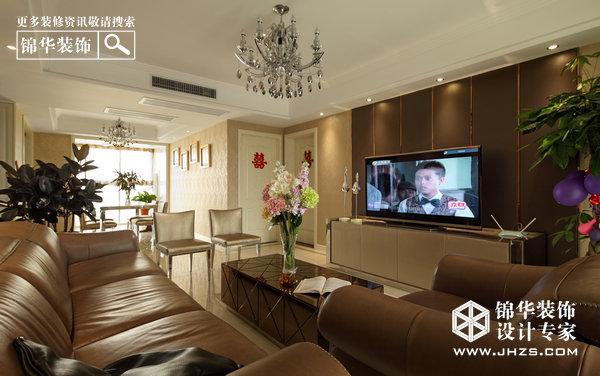 客厅装修效果图-装修图片-南京锦华装饰
