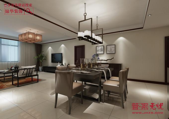 精装新中1型装修-两室两厅-新中式