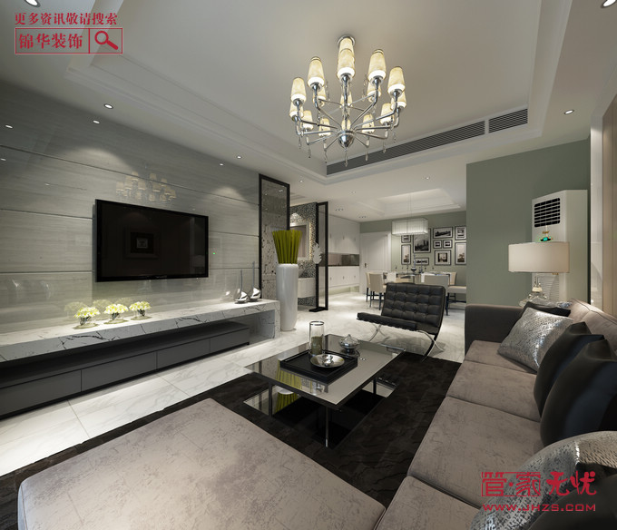 品质现代2型装修-两室两厅-现代简约