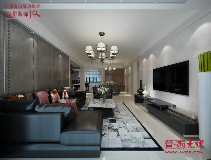 尊享现代2型装修-三室两厅-现代简约