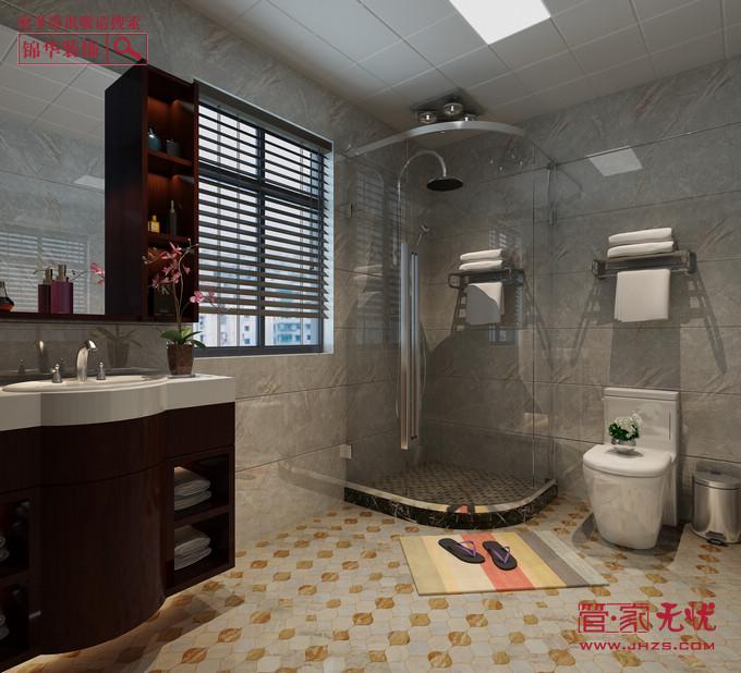 品质新中1型装修-三室两厅-新中式