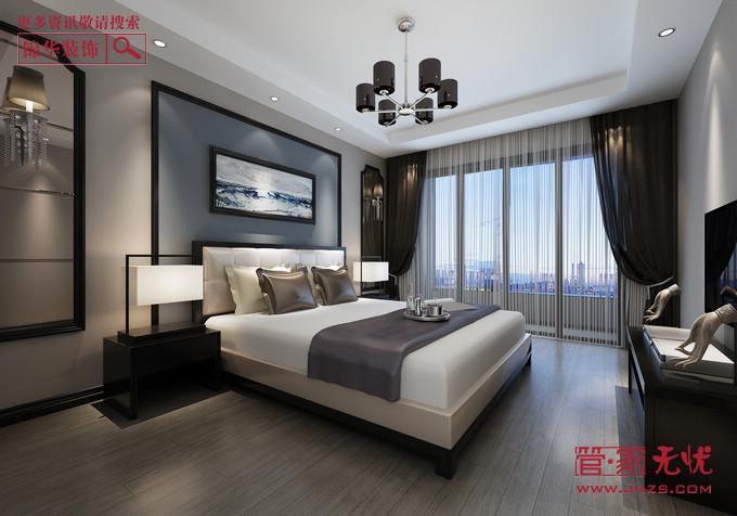 精装新中2型装修-两室两厅-新中式