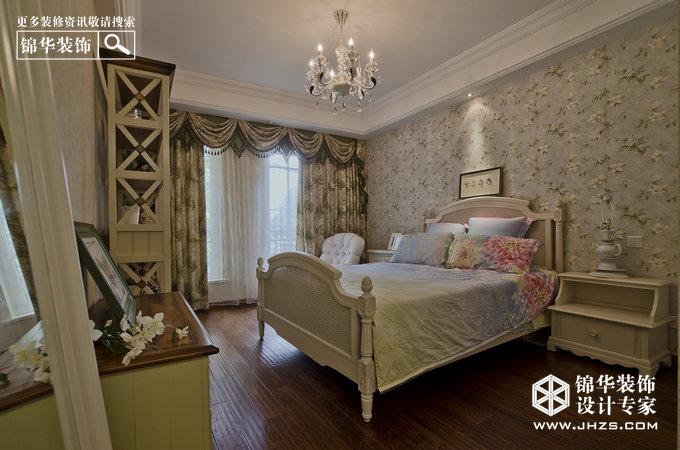 时光-天正桃源装修-三室两厅-欧式古典