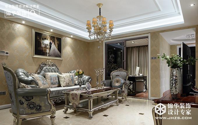 沉香-威尼斯水城装修-三室两厅-简欧