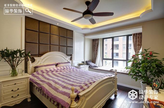 隽美生活-保利紫晶山装修-三室两厅-美式田园