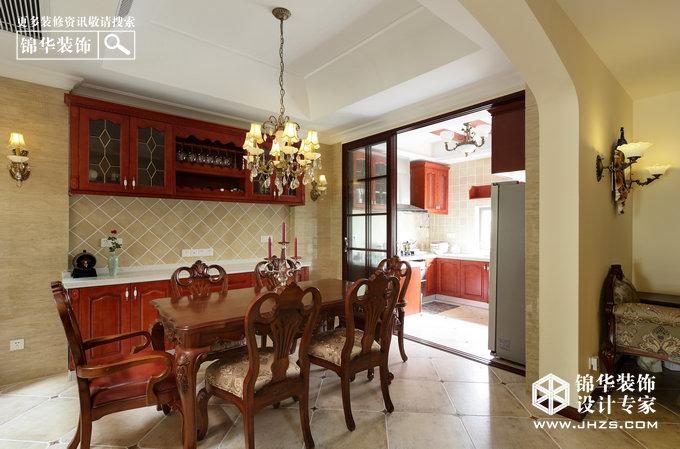 颐和南园-个空间两种表情装修-别墅-美式田园