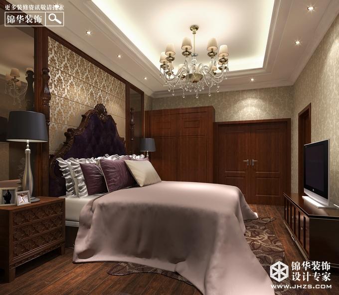 国信自然天城装修-别墅-新中式