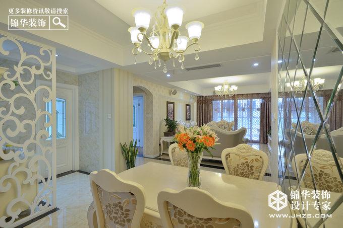 保利香槟国际装修-三室两厅-简欧
