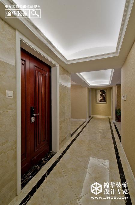 保利紫晶山装修-三室两厅-简欧