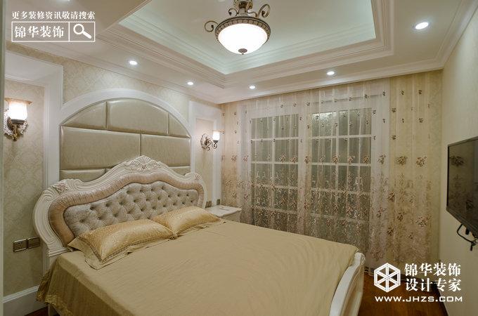 意境与浪漫-鸿雁名居装修-三室两厅-简欧