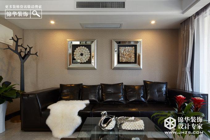 金地名京装修-两室两厅-现代简约