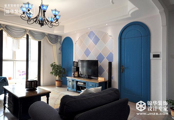 复地新都国际装修-三室两厅-地中海