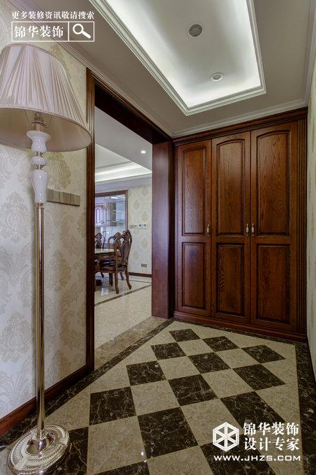 上善若水-善水湾花园装修-三室两厅-欧式古典