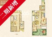 世茂君望墅G1户型246平米