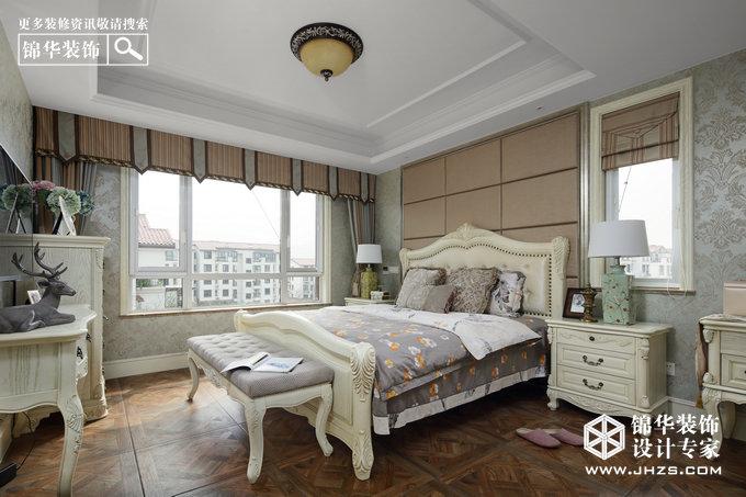 一米阳光-紫金东郡装修-两室两厅-美式田园