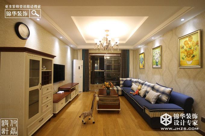 威尼斯水城装修-三室两厅-美式田园