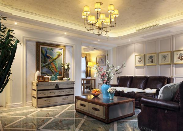 欧式古典-星雨华府-三室两厅-144平米
