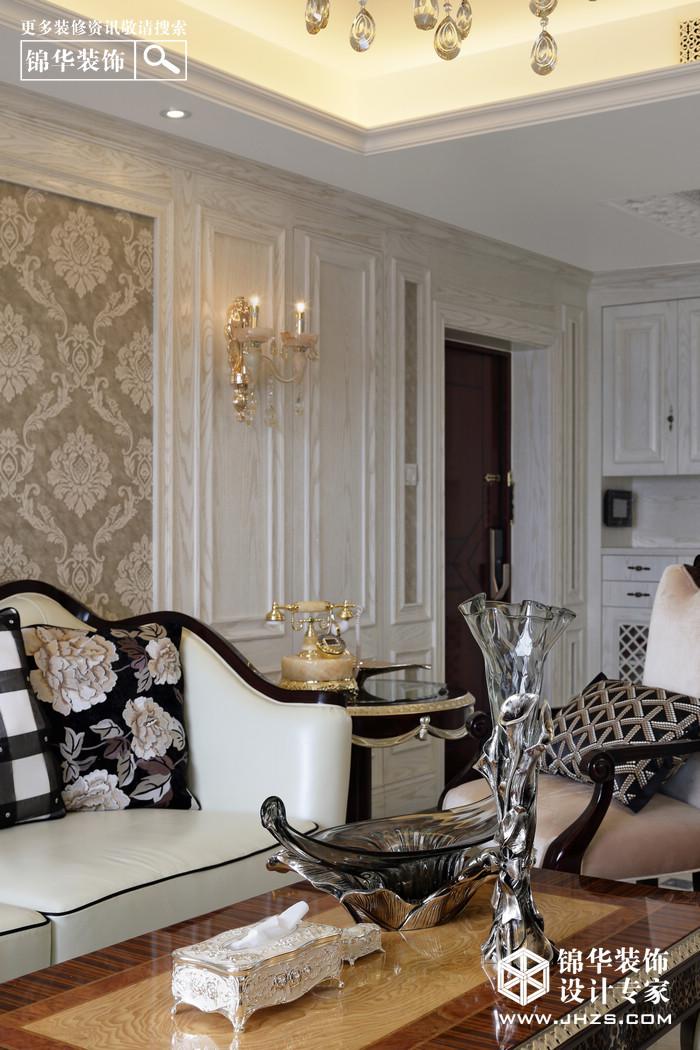 金粉世家-融侨中央花园装修-三室两厅-简欧