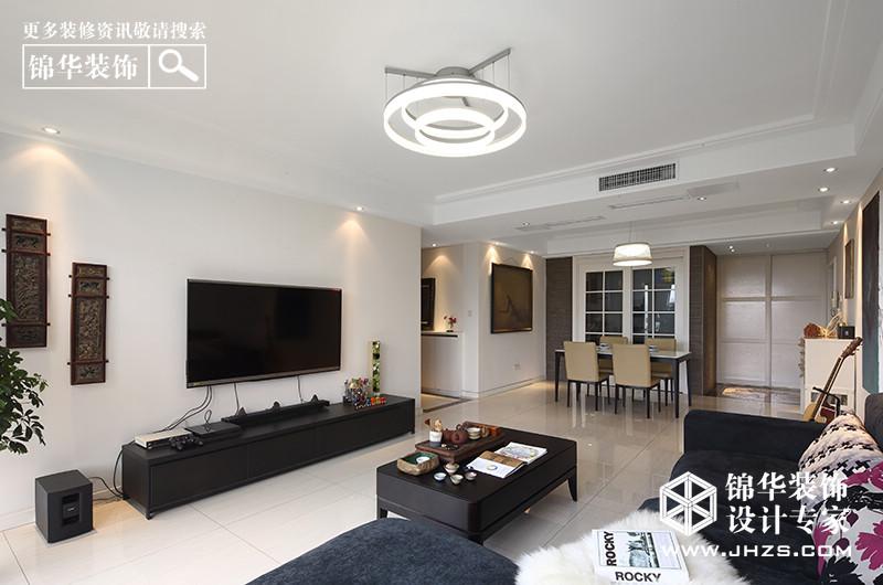 文艺·宅-清江西苑装修-三室两厅-现代简约