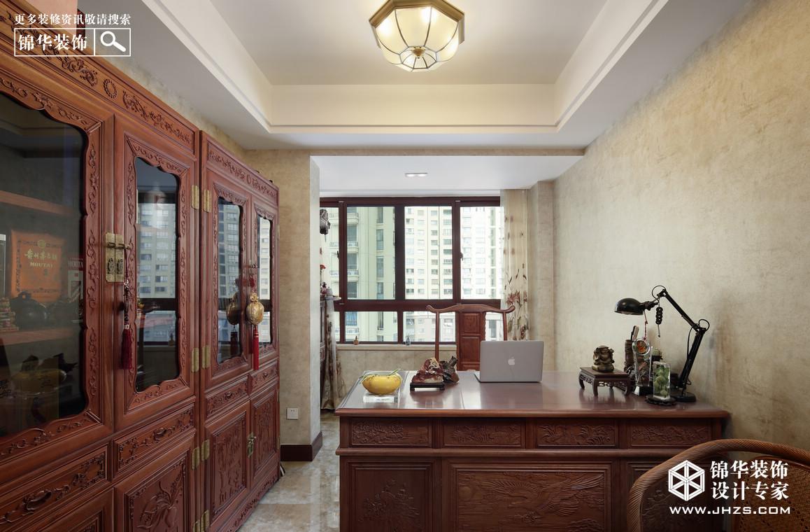 尊崇诠释-威尼斯水城装修-三室两厅-美式田园