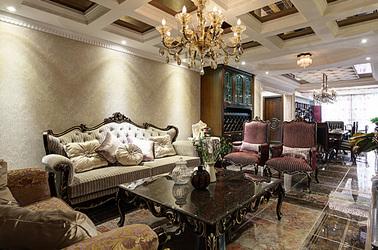 新古典-保利紫晶山-三室两厅-128平米